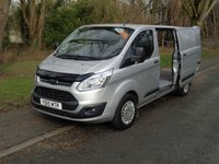 USED 2015 15 FORD TRANSIT CUSTOM 2.2 330 TREND LR P/V 1d 124 BHP LWB COMBI, SAT NAV ,HIGH SPEC, CHOICE OF TWO, (FINANCE AVAILABLE)