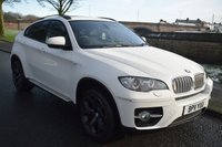 USED 2011 11 BMW X6 3.0 XDRIVE40D 4d AUTO 5 SEATER 302 BHP SERVICE HISTORY, BIG SPEC, SAT NAV, HEATED S/WHEEL, HEATED SPORTS LEATHER, 360 PARKING VIEW