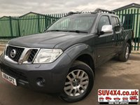 USED 2014 14 NISSAN NAVARA 3.0 OUTLAW DCI 4X4 SHR DCB 1d AUTO 228 BHP SAT NAV LEATHER LOAD COVER FSH (COMMERCIAL 11400+2280VAT). 4WD. SATELLITE NAVIGATION. SUNROOF. ROCK & ROLL REAR LOAD COVER. STUNNING GREY MET WITH FULL BLACK LEATHER TRIM. ELECTRIC HEATED SEATS, CRUISE CONTROL. AIR CON. 18 INCH ALLOYS. COLOUR CODED TRIMS. PRIVACY GLASS. REVERSING CAMERA. ROOF RACK/RAILS. BLUETOOTH PREP. PAS. MONITOR. R/CD PLAYER. MFSW. MOT 02/20. ONE PREV OWNER. FULL SERVICE HISTORY. PICK-UP & VAN CENTRE- LS23 7FQ. TEL 01937 849492 OPTION 3