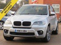 2013 BMW X5 3.0 XDRIVE30D M SPORT 5d AUTO 241 BHP £17700.00