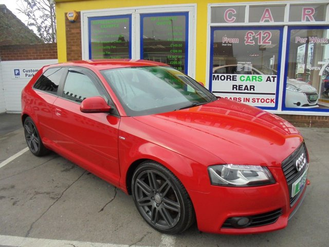 USED 2010 10 AUDI A3 2.0 TDI S LINE SPECIAL EDITION 3d 138 BHP