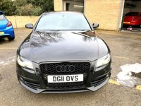 USED 2011 11 AUDI A4 3.0 TDI QUATTRO S LINE SPECIAL EDITION 4d AUTO 240 BHP SAT NAV  BANG AND OLUSFEN SPEAKER SYSTEM UPGRADE, RARE CAR,