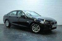 USED 2013 63 BMW 5 SERIES 2.0 520D SE 4d AUTO 181 BHP BIG SPEC + BMW HISTORY