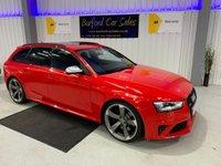 USED 2013 AUDI A4 4.2 RS4 AVANT FSI QUATTRO 5d AUTO 444 BHP