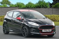 USED 2015 65 FORD FIESTA 1.0 ZETEC S BLACK EDITION 3d 139 BHP ST Sports Exhaust FULL SERVICE HISTORY