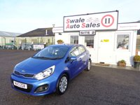 USED 2013 13 KIA RIO 1.1 CRDI 2 ECODYNAMICS 5d 74 BHP £25 PER WEEK, NO DEPOSIT - SEE FINANCE LINK