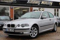 USED 2005 05 BMW 3 SERIES 1.8 316TI SE 3d 115 BHP