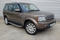 USED 2010 10 LAND ROVER DISCOVERY 3.0 4 TDV6 GS 5d AUTO. 7-SEATER