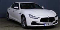 2016 MASERATI GHIBLI 3.0 V6 4d AUTO 330 BHP £26650.00