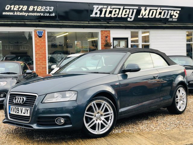 2009 09 AUDI A3 2.0 TDI S LINE 2d 140 BHP LEATHER & NAVIGATION