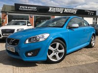 USED 2012 62 VOLVO C30 1.6 D2 R-DESIGN LUX 3d 113 BHP NAVIGATION & LEATHER