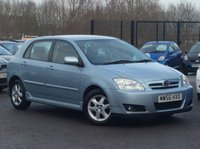USED 2007 56 TOYOTA COROLLA 1.4 T3 COLOUR COLLECTION VVT-I 5d 92 BHP