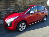 2013 PEUGEOT 3008 1.6 HDI STYLE 5d 112 BHP £6250.00