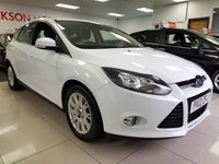 2012 FORD FOCUS 1.6 TITANIUM TDCI+SERVICE HISTORY+HEATED FRONT SCREEN+ £5250.00