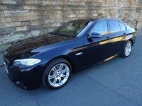 2012 BMW 5 SERIES 2.0 520D M SPORT 4d AUTO 181 BHP £11450.00