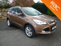 USED 2013 13 FORD KUGA 2.0 TITANIUM X TDCI 5d AUTO 160 BHP Front and Rear Parking Sensors, Full Leather Heated Seats, Sunroof