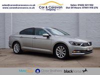 USED 2015 15 VOLKSWAGEN PASSAT 2.0 SE BUSINESS TDI BLUEMOTION TECHNOLOGY 4d 148 BHP One Owner Full Dealer History Buy Now, Pay Later Finance!