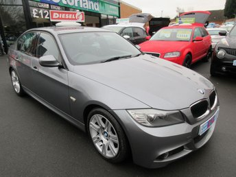 2011 BMW 3 SERIES 2.0 318D M SPORT 4d AUTO 141 BHP £6500.00