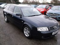 USED 2005 05 AUDI A6 1.9 AVANT TDI SE 5d 129 BHP Part Exchange Priced To Clear.