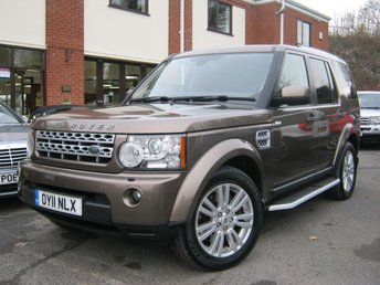 2011 LAND ROVER DISCOVERY 3.0 4 TDV6 HSE 5d AUTO 245 BHP £SOLD