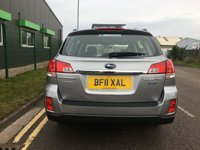 USED 2011 11 SUBARU OUTBACK 2.0 S BOXER D AWD 5 DOOR ESTATE 150 BHP, ONLY 1 OWNER + SUPPLYING DEALER,  EXCELLENT CONDITION