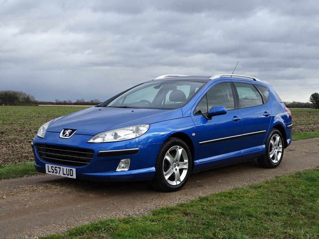 USED 2007 57 PEUGEOT 407 2.0 SW SE HDI 5d AUTO 135 BHP