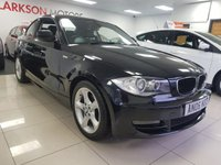 2010 BMW 1 SERIES 2.0 118D SPORT+FULL BLACK LEATHER+LOW MILES+SERVICE HISTORY+ £6990.00