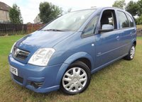 USED 2009 09 VAUXHALL MERIVA 1.4 CLUB 16V TWINPORT 5d 90 BHP 3 Months National Warranty - MOT'd 1 Year for its New Owner