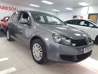 USED 2010 10 VOLKSWAGEN GOLF 1.6 S TDI 5d+ 7 SERVICE STAMPS+ONLY £30 YEAR TAX+