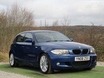 2008 BMW 1 SERIES 2.0 120D M SPORT 5d AUTO 175 BHP £4990.00