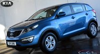 2011 KIA SPORTAGE 1.7CRDi 1 5 DOOR 6-SPEED 114 BHP £7990.00
