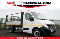 2015 RENAULT TRUCKS MASTER 2.3 125.35 L3H1 125 BHP TIPPER (ONE OWNER WITH CAGE) £11990.00