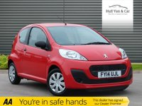 USED 2014 14 PEUGEOT 107 1.0 ACCESS 3d 68 BHP IDEAL 1ST CAR, £0 TAX, LOW INS