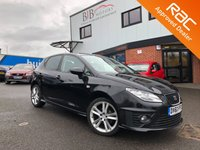 2010 SEAT IBIZA 1.4 BLACK SPORT 5d 85 BHP £4995.00