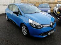 USED 2013 63 RENAULT CLIO 1.1 DYNAMIQUE MEDIANAV 5 DOOR 75 BHP IN BLUE WITH SAT NAV AND ONLY 53000 MILES. APPROVED CARS ARE PLEASED TO OFFER THIS RENAULT CLIO 1.1 DYNAMIQUE MEDIANAV 5 DOOR 75 BHP IN BLUE WITH SAT NAV,BLUETOOTH,ALLOYS,POWER STEERING,CENTRAL LOCKING AND AIR CON IN IMMACULATE CONDITION INSIDE AND OUT WITH A DOCUMENTED SERVICE HISTORY SERVICED AT 12K,28K,42K AND WE WILL SERVICE IT FOR ITS NEW OWNER A GREAT LITTLE CAR AN IDEAL FIRST CAR/LEARNER CAR.