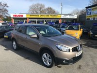 USED 2011 61 NISSAN QASHQAI+2 1.6 ACENTA PLUS 2 5 DOOR 117 BHP IN BRONZE WITH ONLY 40000 MILES AND 7 SEATS. APPROVED CARS ARE PLEASED TO OFFER THIS LOVELY NISSAN QASHQAI+2 1.6 ACENTA PLUS 2 5 DOOR 117 BHP IN BRONZE WITH ONLY 40000 MILES AND A FULL SERVICE HISTORY WITH 7 SEATS AN IDEAL LOW MILEAGE GREAT CONDITION QASHQAI AND SUPER RARE WITH 7 SEATS ONE NOT TO BE MISSED.