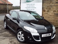 USED 2011 61 RENAULT MEGANE 1.4 DYNAMIQUE TOMTOM TCE 3d 130 BHP SAT NAV And Bluetooth