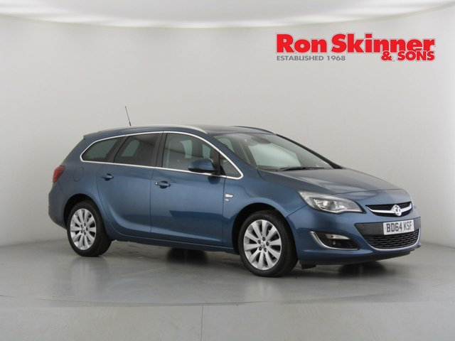 View our 2014 64 VAUXHALL ASTRA 1.6 ELITE 5d 113 BHP