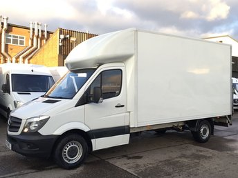2015 MERCEDES-BENZ SPRINTER 2.1 313CDI LWB LUTON BOX TAIL-LIFT. LOW 57,000 MILES. FSH. £13990.00