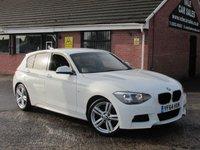 2014 BMW 1 SERIES 116D M SPORT 5dr £10990.00