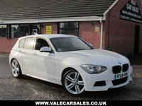 USED 2014 BMW 1 SERIES 116D M SPORT 5dr LOW MILEAGE 'M SPORT' IN THE BEST COLOUR