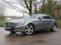 USED 2013 13 MERCEDES-BENZ CLS CLASS 3.0 CLS350 CDI BLUEEFFICIENCY 4d 265 BHP