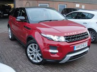 USED 2013 13 LAND ROVER RANGE ROVER EVOQUE 2.2 SD4 DYNAMIC 5d AUTO 190 BHP ANY PART EXCHANGE WELCOME, COUNTRY WIDE DELIVERY ARRANGED, HUGE SPEC