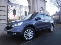 USED 2012 62 HONDA CR-V 2.2 I-DTEC ES 5d 148 BHP *** FINANCE & PART EXCHANGE WELCOME *** 4X4 DIESEL AUTOMATIC HALF LEATHER HEATED SEATS SAT/NAV BLUETOOTH PHONE AIR/CON CRUISE CONTROL FRONT & REAR PARKING SENSORS