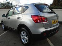 USED 2008 58 NISSAN QASHQAI 1.6 VISIA 5d 113 BHP GUARANTEED TO BEAT ANY 'WE BUY ANY CAR' VALUATION ON YOUR PART EXCHANGE