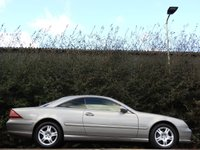 USED 2004 04 MERCEDES-BENZ CL 5.0 CL 500 2d AUTO 302 BHP HUGE SPEC LEATHER FSH A/C VGC