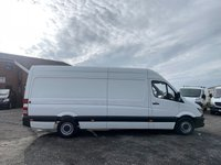 USED 2015 65 MERCEDES-BENZ SPRINTER 2.1 313 CDI LWB FACELIFT HIGH ROOF LWB, FACELIFT, ONE OWNER, PLY LINED, CRUISE, BLUETOOTH