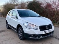 USED 2014 14 SUZUKI SX4 S-CROSS HIGH SPEC CAR, SAT NAV, REAR CAMERA, BLUETOOTH