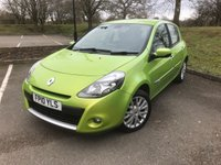 USED 2010 10 RENAULT CLIO 1.5 DYNAMIQUE TOMTOM DCI 5d 86 BHP