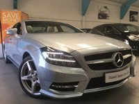 USED 2014 64 MERCEDES-BENZ CLS CLASS 3.0 CLS350 CDI BLUEEFFICIENCY AMG SPORT 4d AUTO 265 BHP